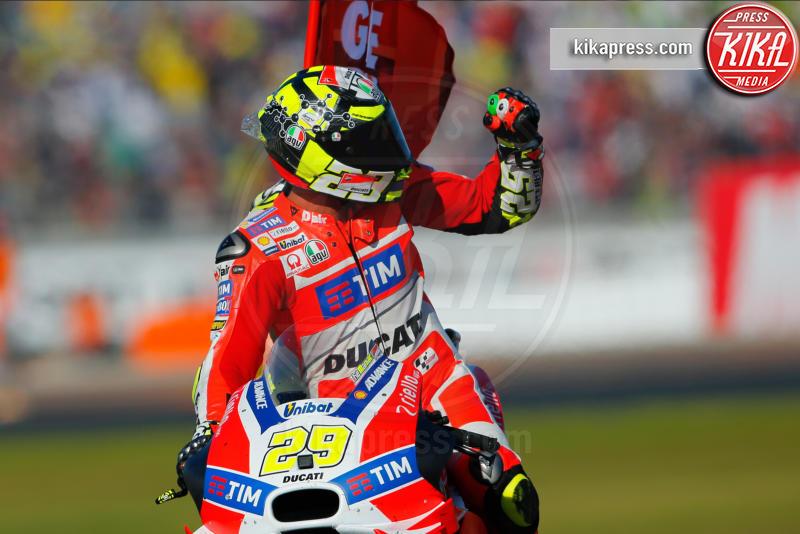 Andrea Iannone, Valencia - Valencia - 13-11-2016 - Moto Gp di Spagna: vince Lorenzo, ma Marquez è campione