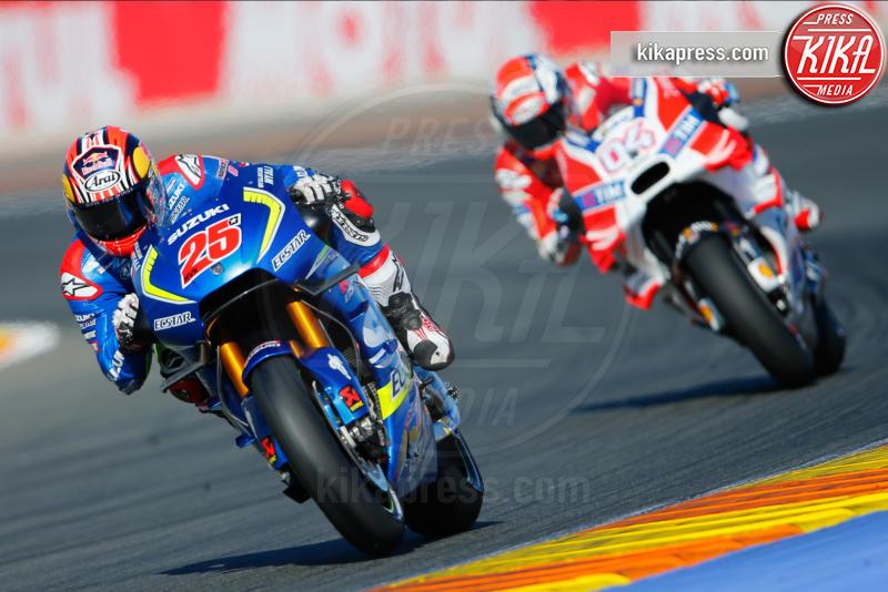 Maverick Vinales, Valencia, Andrea Dovizioso - Valencia - 13-11-2016 - Moto Gp di Spagna: vince Lorenzo, ma Marquez è campione