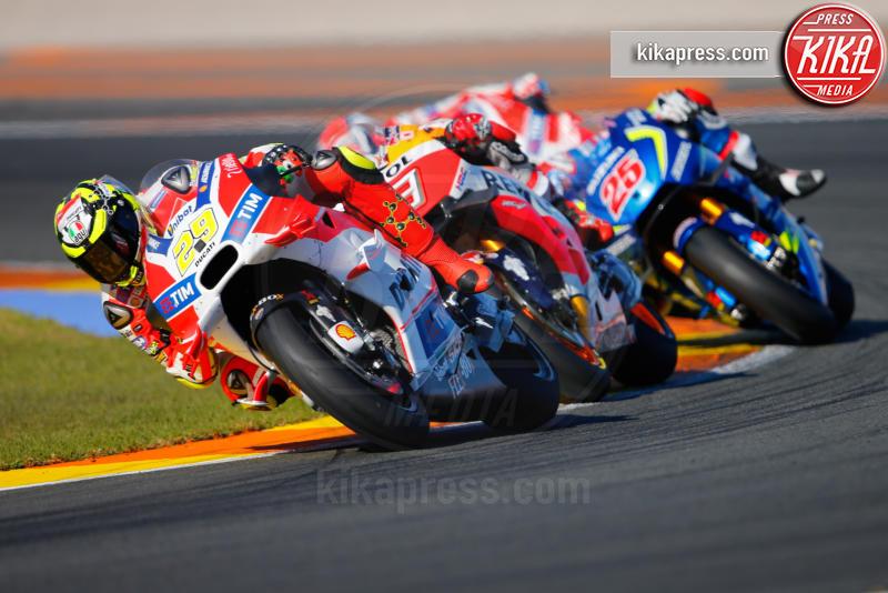 Andrea Iannone - Valencia - 13-11-2016 - Moto Gp di Spagna: vince Lorenzo, ma Marquez è campione