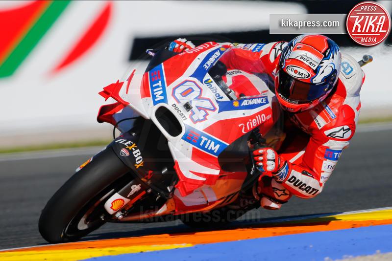Valencia, Andrea Dovizioso - Valencia - 13-11-2016 - Moto Gp di Spagna: vince Lorenzo, ma Marquez è campione