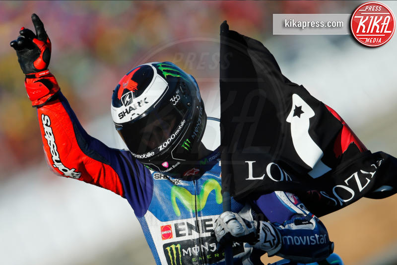 Valencia, Jorge Lorenzo - Valencia - 13-11-2016 - Moto Gp di Spagna: vince Lorenzo, ma Marquez è campione