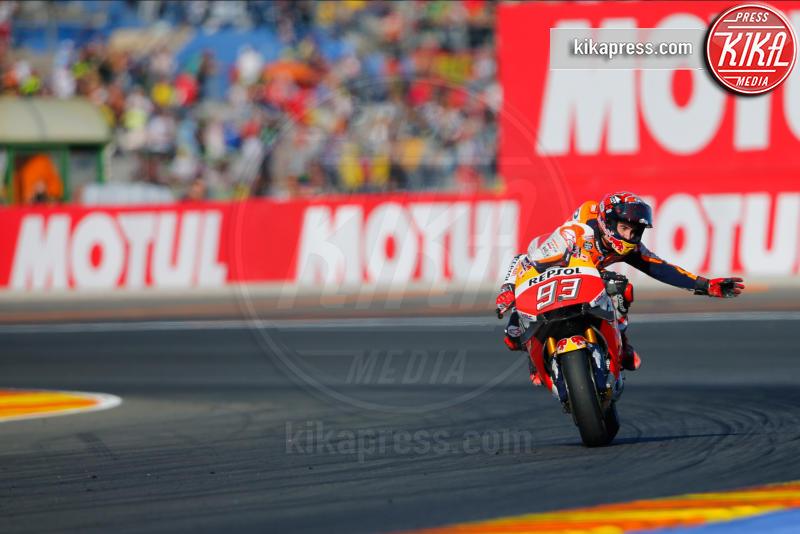 Marc Marquez, Valencia - Valencia - 13-11-2016 - Moto Gp di Spagna: vince Lorenzo, ma Marquez è campione
