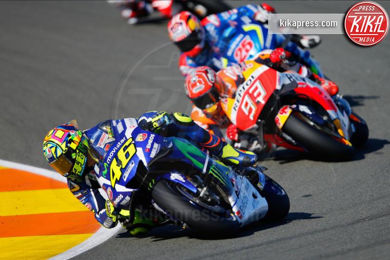 Marc Marquez, Valencia, Valentino Rossi - Valencia - 13-11-2016 - Moto Gp di Spagna: vince Lorenzo, ma Marquez è campione