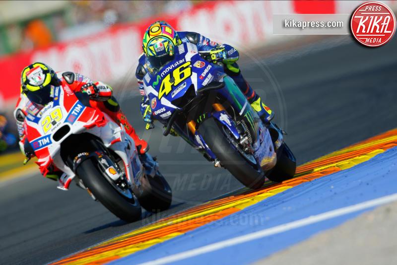Andrea Iannone, Valencia, Valentino Rossi - Valencia - 13-11-2016 - Moto Gp di Spagna: vince Lorenzo, ma Marquez è campione