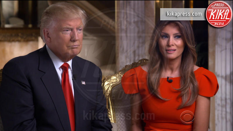 Melania Trump, Donald Trump - Washington - 14-11-2016 - Donald Trump, la prima intervista da Presidente