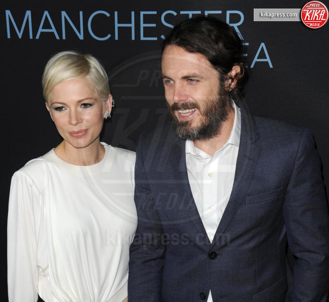Michelle Williams, Casey Affleck - Beverly Hills - 14-11-2016 - BAFTA Awards: La La Land fa incetta di nomination