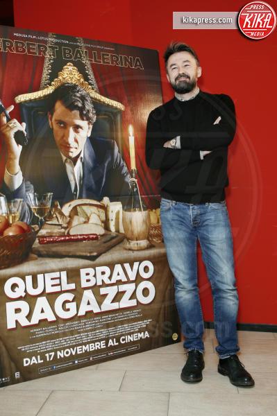 Enrico Lando - Milano - 15-11-2016 - Quel Bravo Ragazzo di Herbert Ballerina... al cinema!
