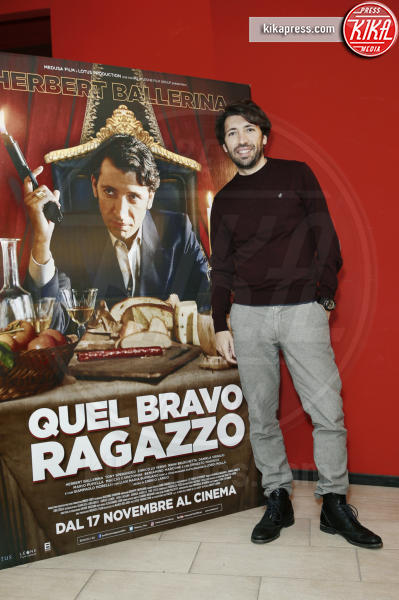 Herbert Ballerina - Milano - 15-11-2016 - Quel Bravo Ragazzo di Herbert Ballerina... al cinema!