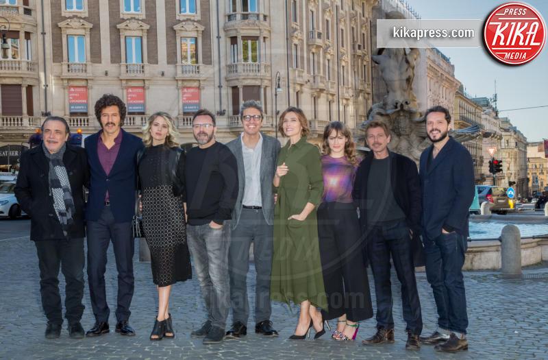 La mafia uccide solo d'estate - La serie, Il Cast - Roma - 15-11-2016 - La mafia uccide solo d'estate diventa una serie TV