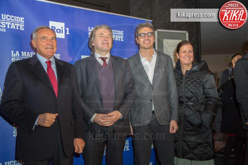 Pietro Grasso, Pif - Roma - 15-11-2016 - La mafia uccide solo d'estate diventa una serie TV