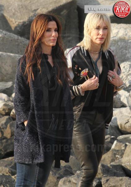 Sandra Bullock, Cate Blanchett - New York - 16-11-2016 - Bullock-Blanchett, la coppia di donne di Ocean's Eight