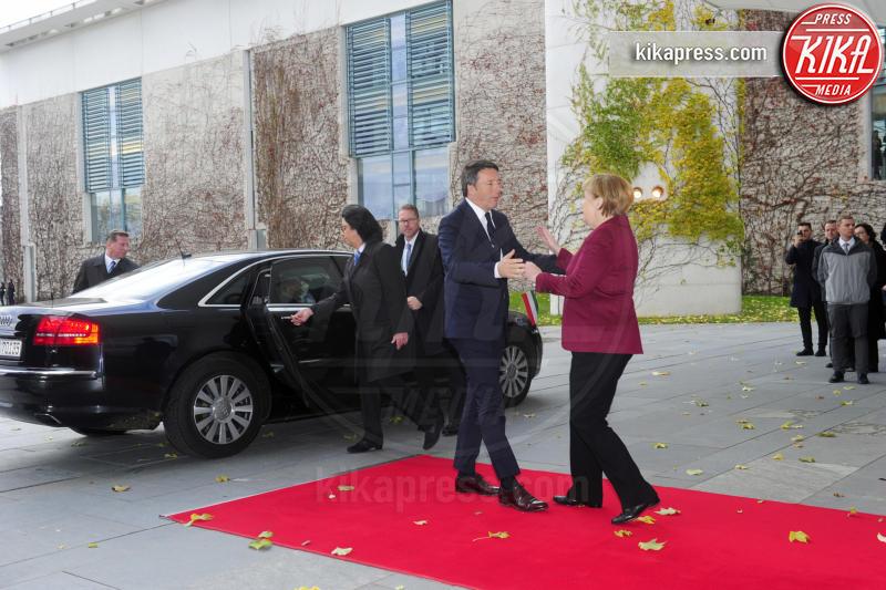Matteo Renzi, Angela Merkel - Berlino - 18-11-2016 - Vertice a Berlino: la Merkel si candida per il quarto mandato