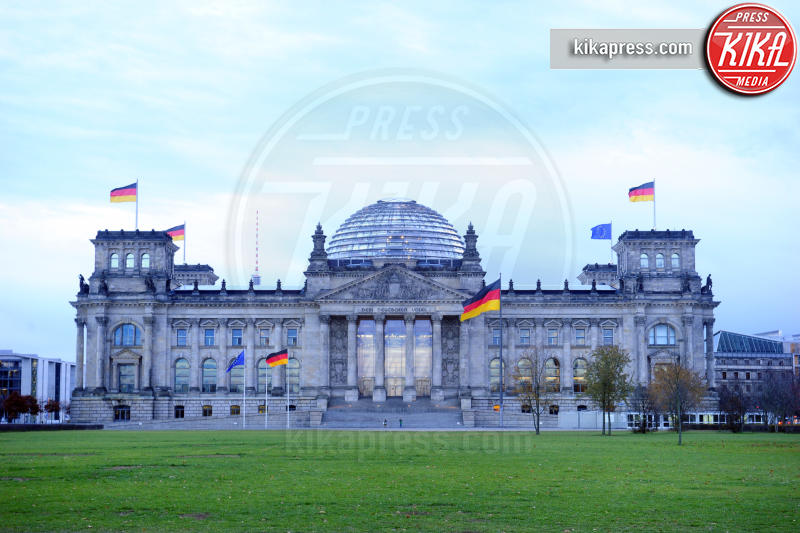 Reichstag, Angela Merkel - Berlino - 18-11-2016 - Vertice a Berlino: la Merkel si candida per il quarto mandato