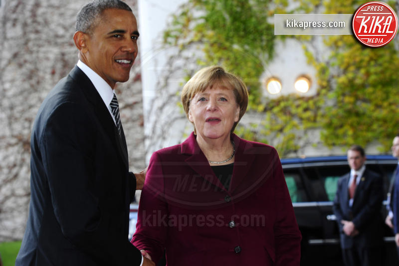Angela Merkel, Barack Obama - Berlino - 18-11-2016 - Vertice a Berlino: la Merkel si candida per il quarto mandato
