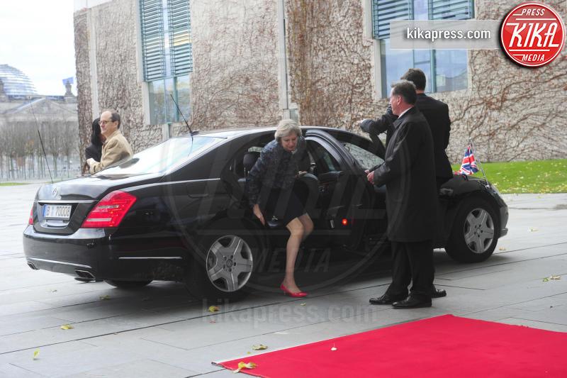 Theresa May, Angela Merkel - Berlino - 18-11-2016 - Vertice a Berlino: la Merkel si candida per il quarto mandato