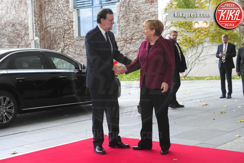 Mariano Rajoy, Angela Merkel - Berlino - 18-11-2016 - Vertice a Berlino: la Merkel si candida per il quarto mandato