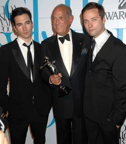 Jack McCollough, Lazaro Hernandez, Oscar de La Renta - New York - 05-06-2007 - Oscar de la Renta è morto all'etàdi 82 anni