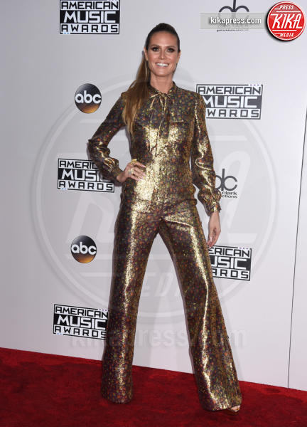 Heidi Klum - Los Angeles - 20-11-2016 - American Music Awards: Chrissy Teigen in versione super-osè