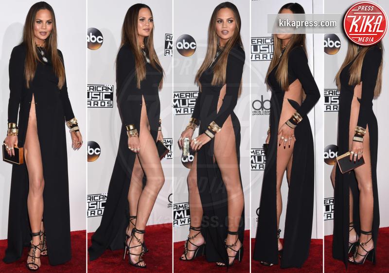 Chrissy Teigen - Los Angeles - 20-11-2016 - American Music Awards: Chrissy Teigen in versione super-osè