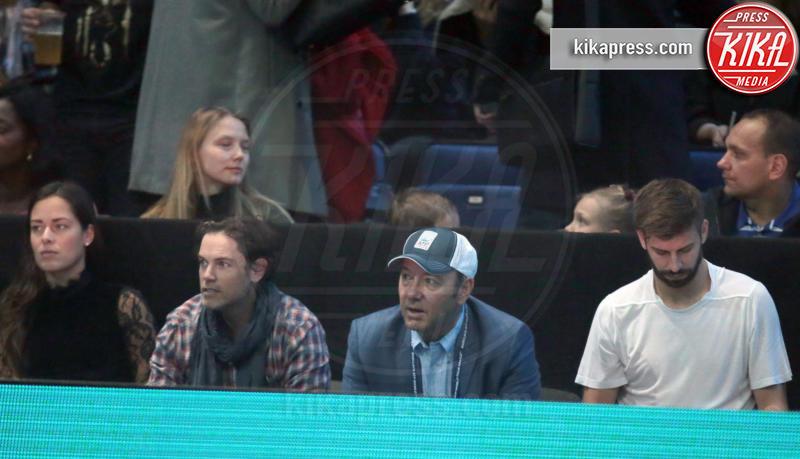 Gerard Piqué, Kevin Spacey - Londra - 20-11-2016 - Piquè e Spacey celebrano il nuovo numero Uno Andy Murray