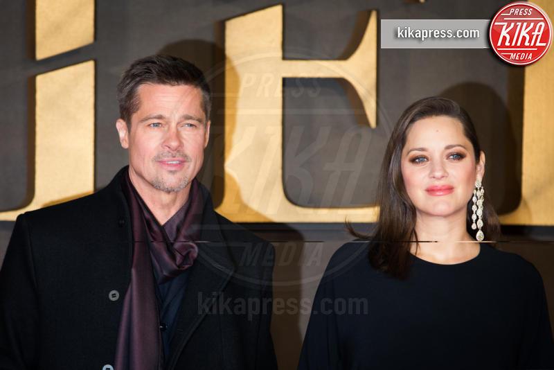 Marion Cotillard, Brad Pitt - Londra - 21-11-2016 - Londra, la coppia dello scandalo è arrivata