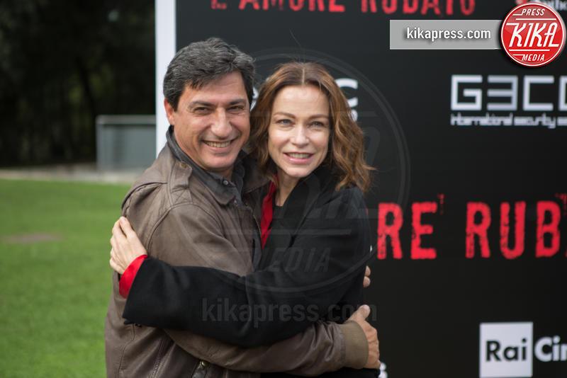 Emilio Solfrizzi, Stefania Rocca - Roma - 24-11-2016 - L'Amore Rubato: l'amore violento raccontato dalle donne