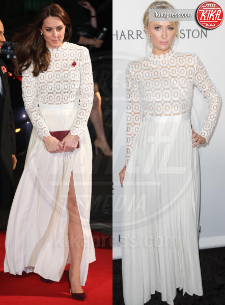 Kate Middleton, Paris Hilton - 28-11-2016 - Chi lo indossa meglio? Sian Reeves, Kate Middleton, Paris Hilton