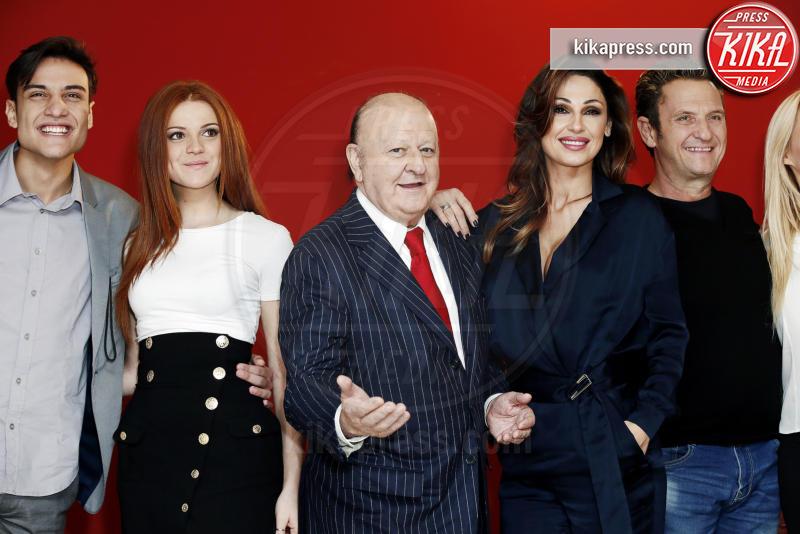 Ludovica Bizzaglia, Enzo Salvi, Massimo Boldi, Anna Tatangelo - Milano - 30-11-2016 - Milano, è arrivato il cast di Natale al Sud