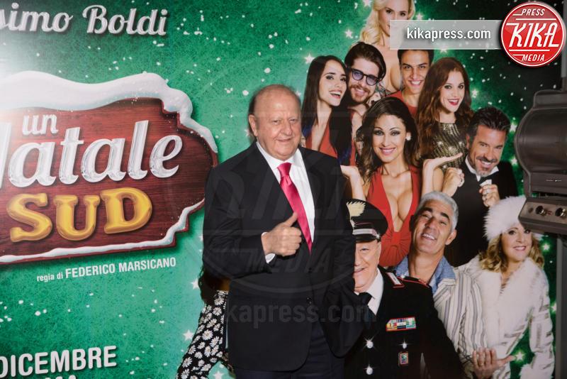 Massimo Boldi - Roma - 01-12-2016 - Anna Tatangelo, bomba sexy per Un Natale al Sud