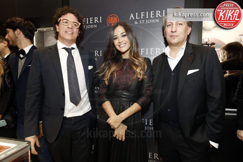 Fabio Godano, Giorgia Palmas - Milano - 01-12-2016 - Alfieri & St. John: le stelle sono Cecilia e mamma Rodriguez