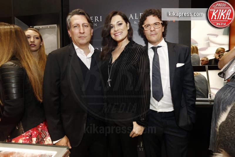 Fabio Godano, Alena Seredova - Milano - 01-12-2016 - Alfieri & St. John: le stelle sono Cecilia e mamma Rodriguez