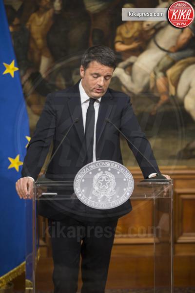 Matteo Renzi - Roma - 05-12-2016 - Vince il No, Renzi: