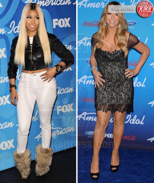 Nicki Minaj, Mariah Carey - 05-12-2016 - Nemiciamatissimi... d'amore e d'accordo davanti alle telecamere!