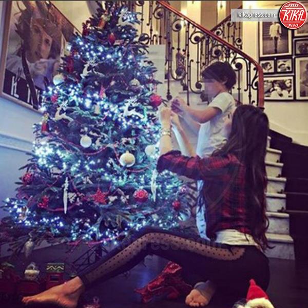 Elisabetta Gregoraci - Milano - 06-12-2016 - Natale 2016: le star che hanno già preparato l'albero