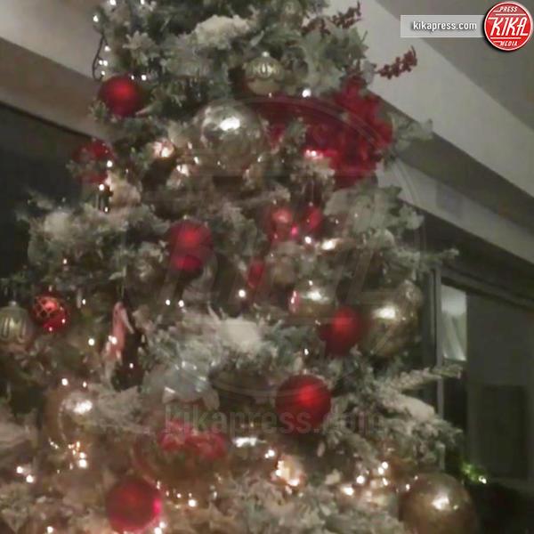 Antonella Clerici - Milano - 06-12-2016 - Natale 2016: le star che hanno già preparato l'albero
