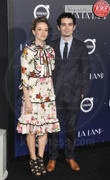 Damien Chazelle - Hollywood - 06-12-2016 - Emma Stone, un angelo azzurro alla première di La La Land
