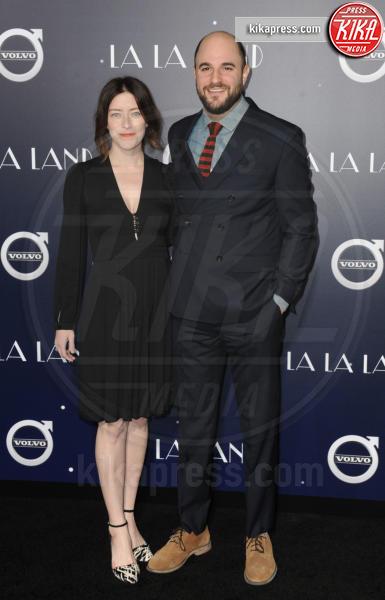 Jordan Horowitz - Hollywood - 06-12-2016 - Emma Stone, un angelo azzurro alla première di La La Land