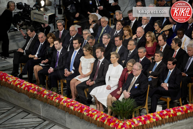 Famiglia reale norvegese - Stoccolma - 10-12-2016 - Nobel, a Stoccolma Patti Smith in rappresentanza di Bob Dylan