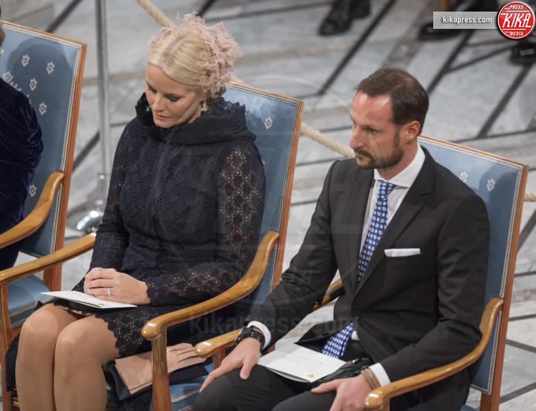 Principe Haakon Magnus di Norvegia, Mette-Marit di Norvegia - Stoccolma - 10-12-2016 - Nobel, a Stoccolma Patti Smith in rappresentanza di Bob Dylan