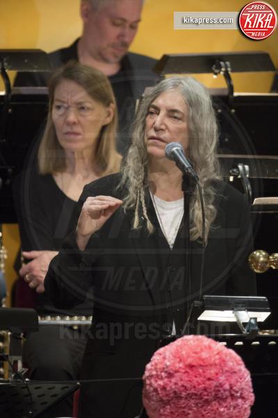 Patti Smith - Stoccolma - 10-12-2016 - Nobel, a Stoccolma Patti Smith in rappresentanza di Bob Dylan