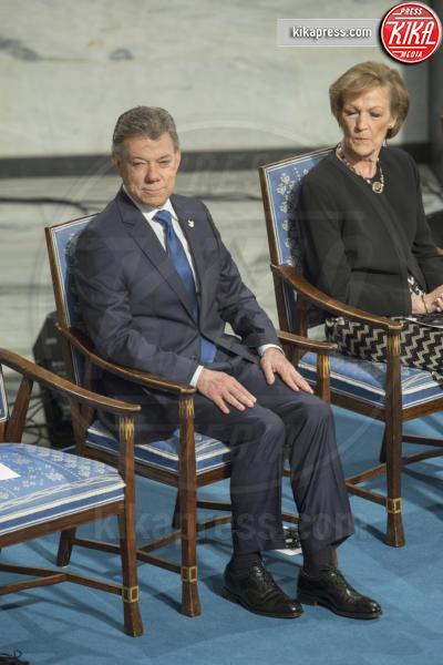 Juan Manuel Santos - Oslo - 10-12-2016 - Nobel, a Stoccolma Patti Smith in rappresentanza di Bob Dylan