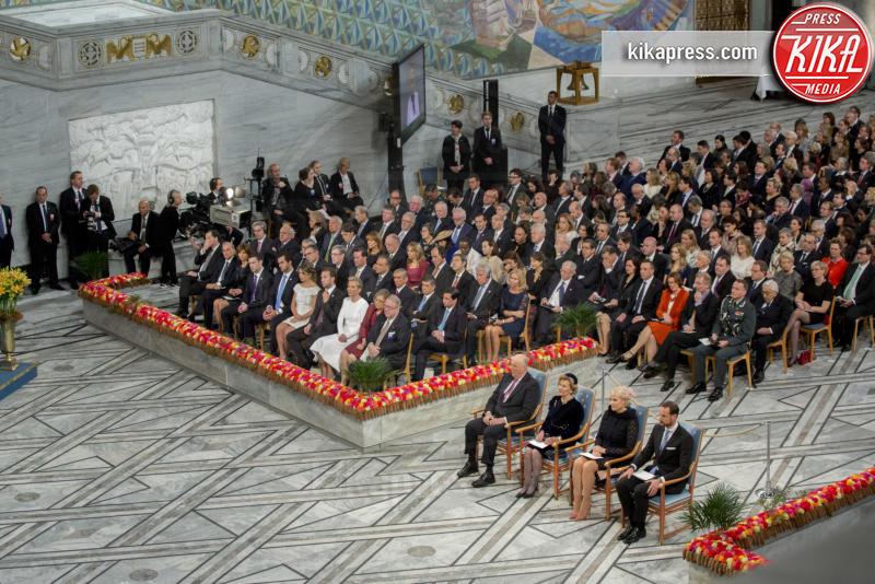 Famiglia reale norvegese - Oslo - 10-12-2016 - Nobel, a Stoccolma Patti Smith in rappresentanza di Bob Dylan
