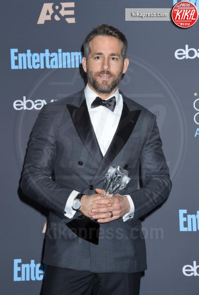 Ryan Reynolds - Santa Monica - 11-12-2016 - Critics' Choice Awards 2016: è La la la Land dominio