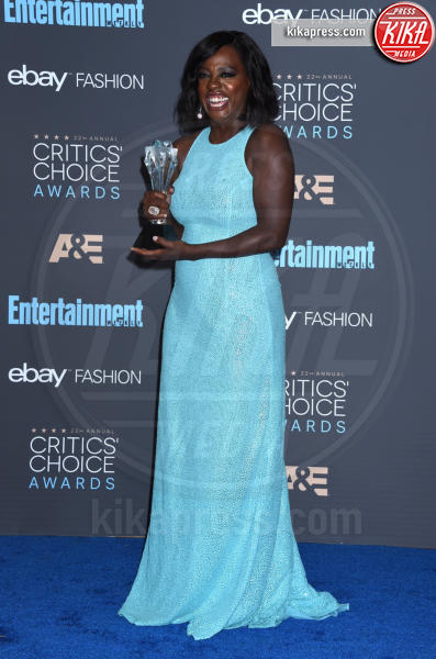 Viola Davis - Santa Monica - 11-12-2016 - Critics' Choice Awards 2016: è La la la Land dominio