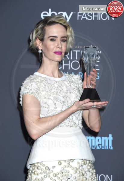 Sarah Paulson - Santa Monica - 11-12-2016 - Critics' Choice Awards 2016: è La la la Land dominio