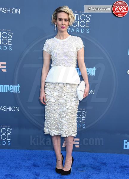 Sarah Paulson - Santa Monica - 11-12-2016 - Sarah Paulson Migliore attrice in una miniserie o film tv