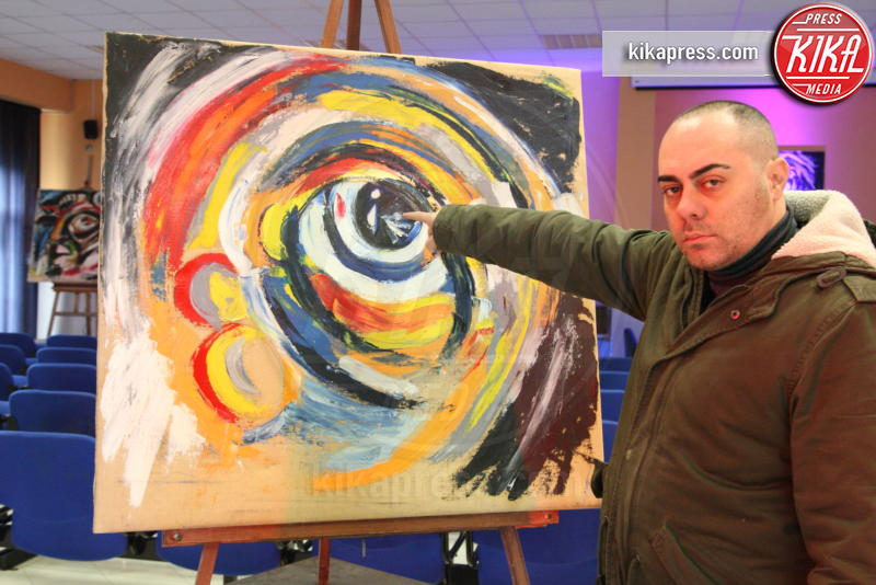 Dicotomie visive, Alfredo Troise - Arzano - 11-12-2016 - Dicotomie Visive: la mostra del pittore Alfredo Troise