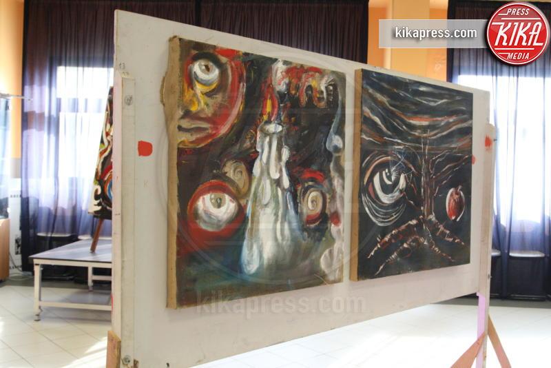 Dicotomie visive, Alfredo Troise, Quadro, Opera - Arzano - 11-12-2016 - Dicotomie Visive: la mostra del pittore Alfredo Troise