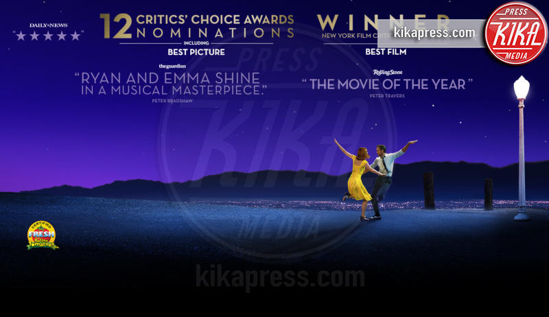 La La Land - Los Angeles - 12-12-2016 - BAFTA Awards: La La Land fa incetta di nomination