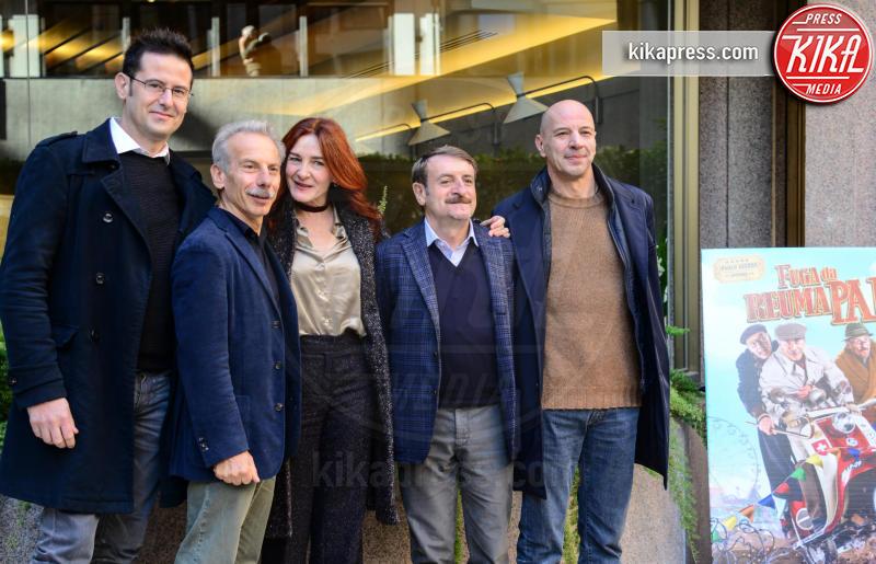 Silvana Fallisi, Giacomo Poretti, Giovanni Storti, Aldo Baglio - Roma - 13-12-2016 - Venticinque di questi anni per Aldo, Giovanni e Giacomo